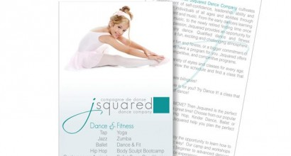 Jsquared Dance Co. Brochure