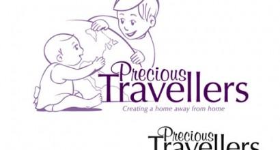 Precious Travellers Logo Design
