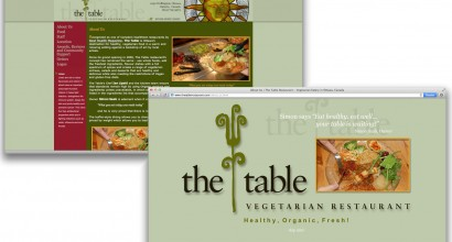 The Table Website