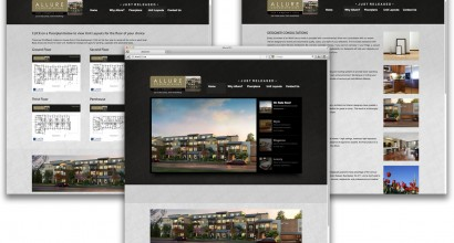 Allure Condominiums Website