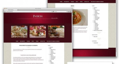Passion Catering Website
