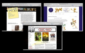 Film related web sites Luckham Creative has designed include Check it Out Films, Ottawa Film Society and 72 Hour Films.