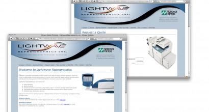 Lightwave Reprographics Website