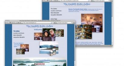 Meredith Studio Gallery Website