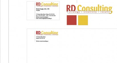 RD Consulting Identity Design